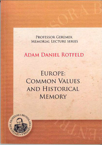 Europe: Common Values and Historical Memory